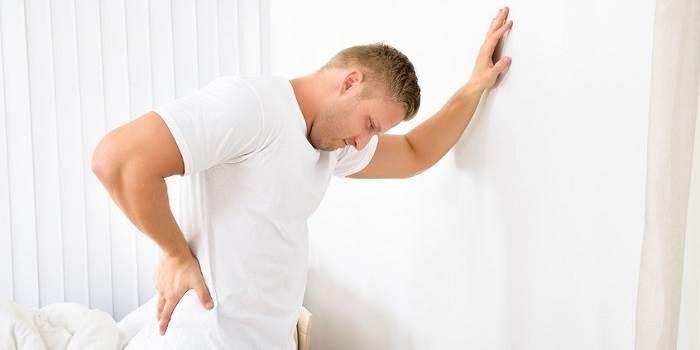 اسپاسم یا گرفتگی عضلات کمر
