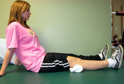 تمرین عضله چهار سر ران